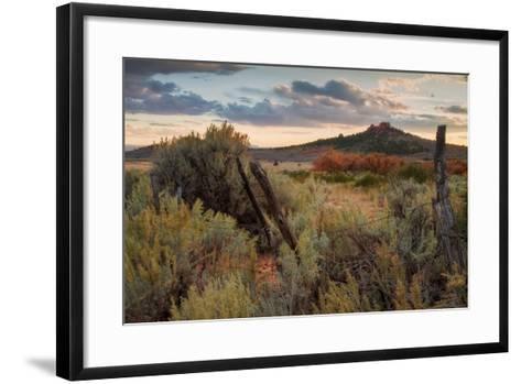 Southern Utah Roadside-Vincent James-Framed Art Print