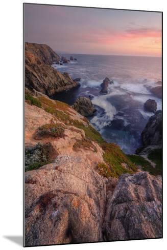 Sunset at Bodega Headlands-Vincent James-Mounted Photographic Print