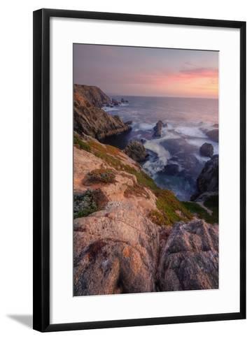 Sunset at Bodega Headlands-Vincent James-Framed Art Print