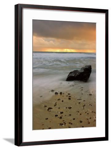 Sunset Rocks-Vincent James-Framed Art Print