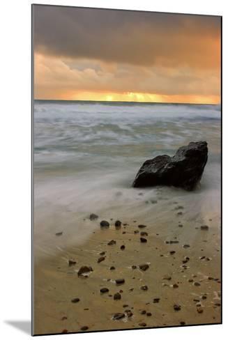Sunset Rocks-Vincent James-Mounted Photographic Print