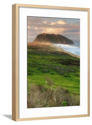 Morning at Point Sur Lighthouse-Vincent James-Framed Art Print