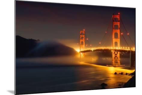 Bridge and Fog, San Francisco-Vincent James-Mounted Photographic Print