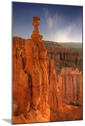 Morning Light at Thor's Hammer-Vincent James-Mounted Photographic Print