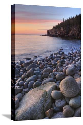 Seascape at Monument Cove, Acadia-Vincent James-Stretched Canvas Print