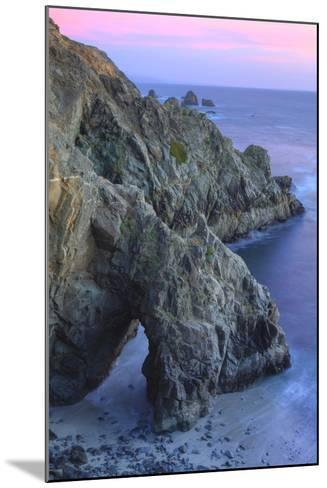 The Arch at Bodega Head-Vincent James-Mounted Photographic Print
