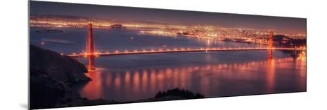 San Francisco Cityscape from the Marin Headlands-Vincent James-Mounted Photographic Print