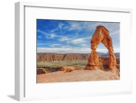 Classic Delicate Arch-Vincent James-Framed Art Print