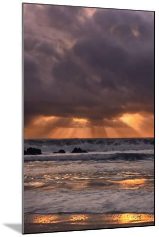 Light Beams at Big Sur-Vincent James-Mounted Photographic Print