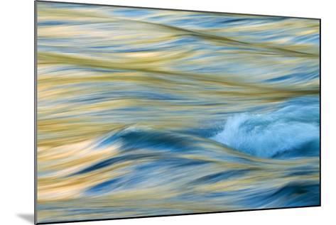Late Afternoon Light and Merced River Abstract-Vincent James-Mounted Photographic Print