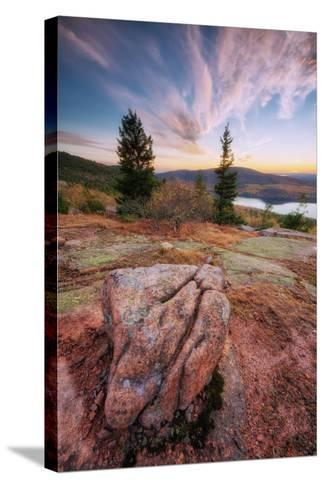 Cadillac Mountain Beauty-Vincent James-Stretched Canvas Print