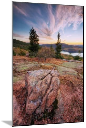 Cadillac Mountain Beauty-Vincent James-Mounted Photographic Print