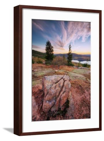 Cadillac Mountain Beauty-Vincent James-Framed Art Print