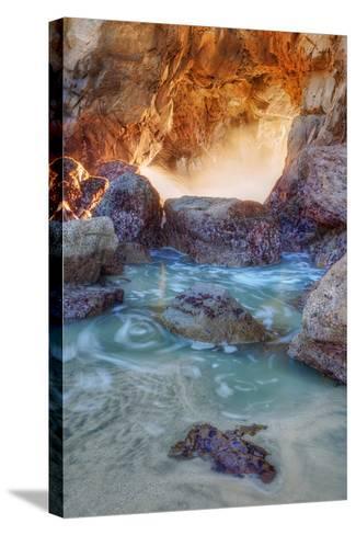 Dynamic Cove - Big Sur-Vincent James-Stretched Canvas Print