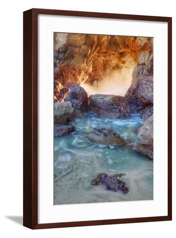 Dynamic Cove - Big Sur-Vincent James-Framed Art Print