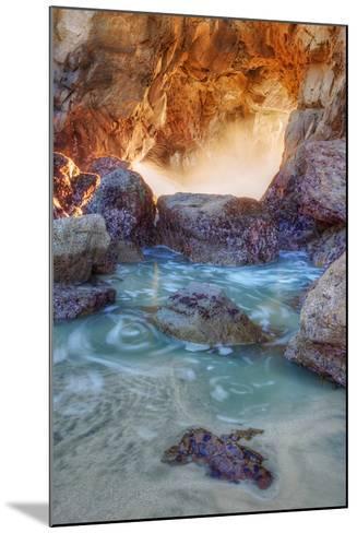 Dynamic Cove - Big Sur-Vincent James-Mounted Photographic Print