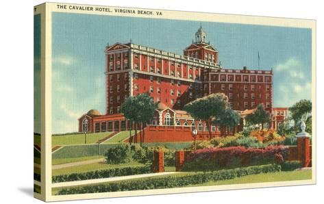 Cavalier Hotel, Virginia Beach--Stretched Canvas Print