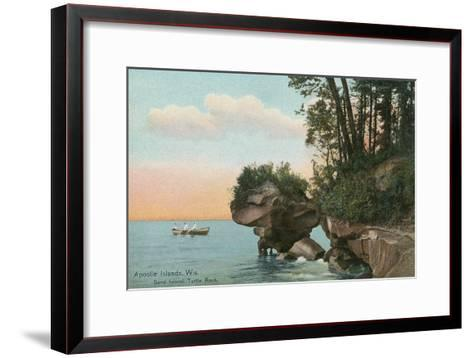Apostle Islands, Wisconsin--Framed Art Print