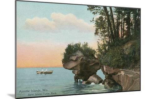 Apostle Islands, Wisconsin--Mounted Art Print