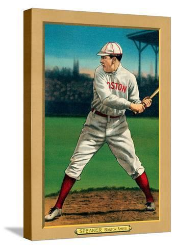Early Baseball Card, Tris Speaker--Stretched Canvas Print