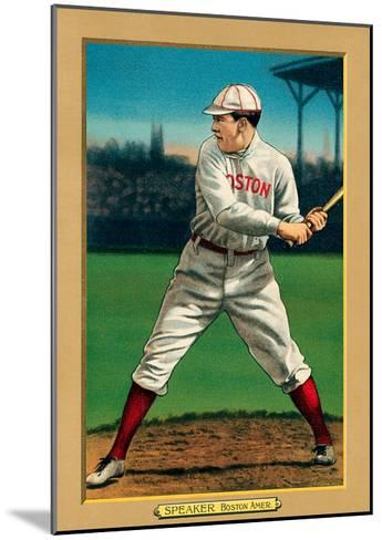 Early Baseball Card, Tris Speaker--Mounted Art Print