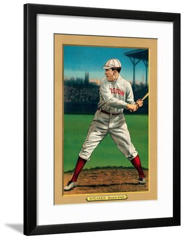 Early Baseball Card, Tris Speaker--Framed Art Print