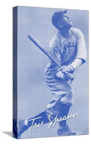 Tris Speaker, Baseball Player--Stretched Canvas Print