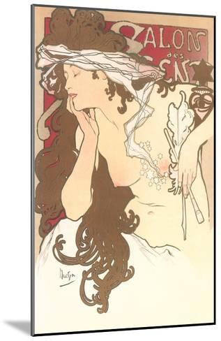 Art Nouveau Semi-Nude--Mounted Art Print