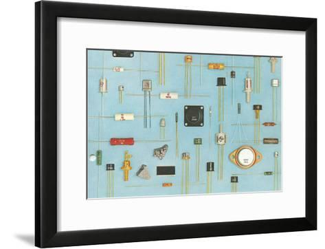 Electronic Components--Framed Art Print