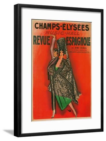 Poster for Flamenco Dancers--Framed Art Print