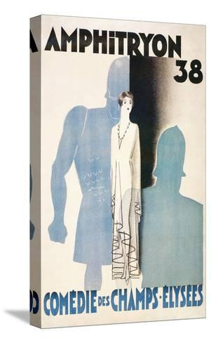 Poster for Amphitryon 38, Paris--Stretched Canvas Print