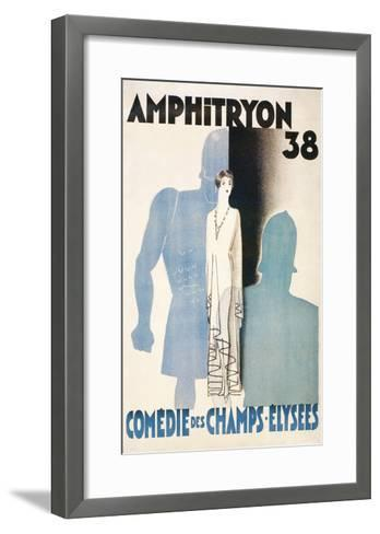 Poster for Amphitryon 38, Paris--Framed Art Print