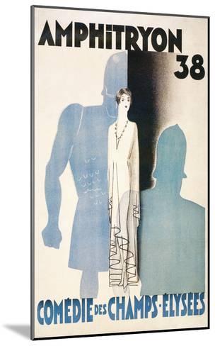 Poster for Amphitryon 38, Paris--Mounted Art Print