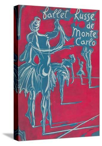 Poster for Ballet Russe De Monte Carlo--Stretched Canvas Print