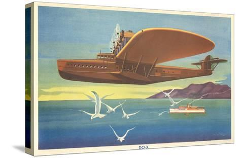 Dornier Do-X Flying Boat--Stretched Canvas Print