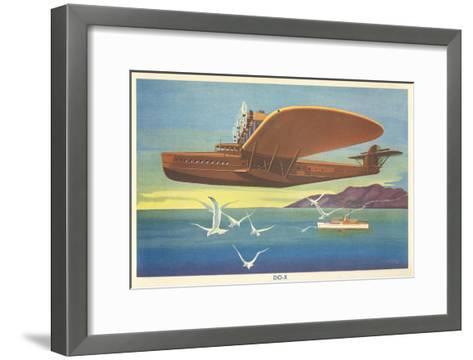 Dornier Do-X Flying Boat--Framed Art Print