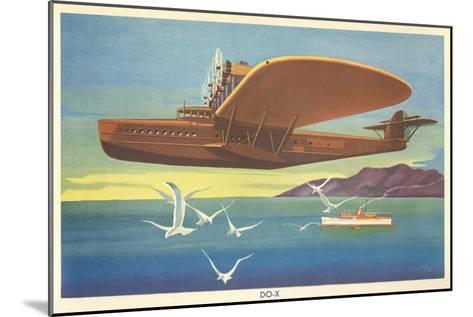 Dornier Do-X Flying Boat--Mounted Art Print