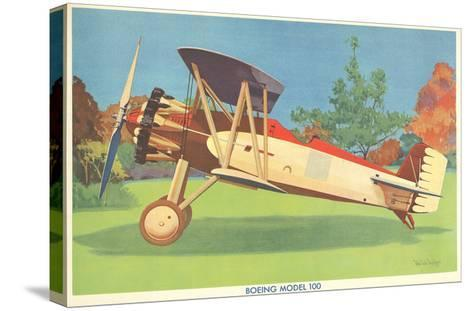 Boeing Model 100 Airplane--Stretched Canvas Print