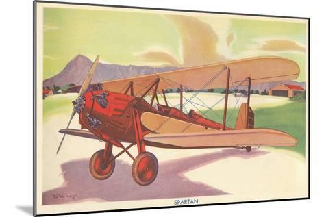 Spartan Biplane--Mounted Art Print