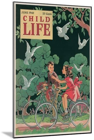 Magazine Cover, Child Life--Mounted Art Print