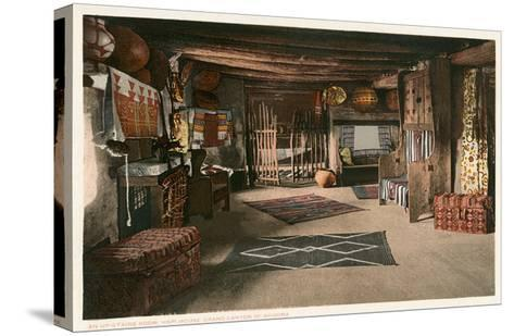 Hopi House Interior, Grand Canyon--Stretched Canvas Print