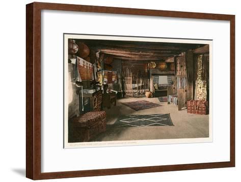 Hopi House Interior, Grand Canyon--Framed Art Print