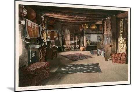 Hopi House Interior, Grand Canyon--Mounted Art Print