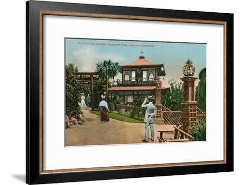 Piedmont Park, Oakland, California--Framed Art Print