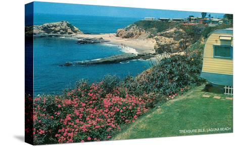 Treasure Isle, Laguna Beach, California--Stretched Canvas Print