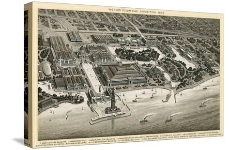 Columbian Exposition, 1893, Chicago, Illinois--Stretched Canvas Print