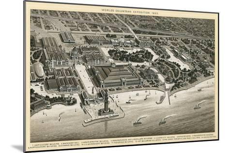 Columbian Exposition, 1893, Chicago, Illinois--Mounted Art Print