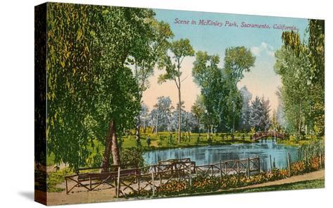 Mckinley Park, Sacramento, California--Stretched Canvas Print