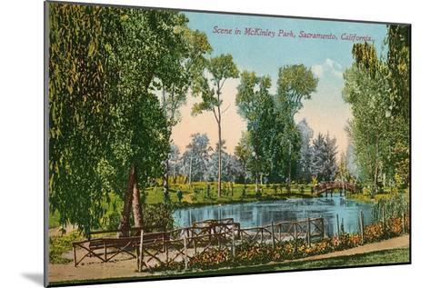 Mckinley Park, Sacramento, California--Mounted Art Print
