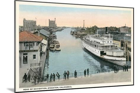 Port of Stockton, California--Mounted Art Print